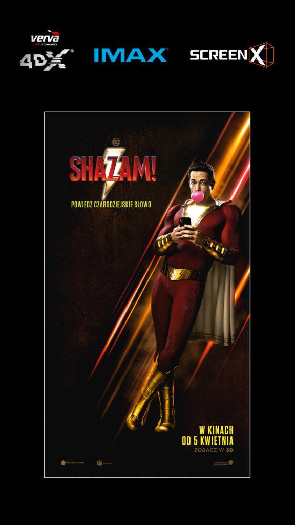 Shazam - plakat