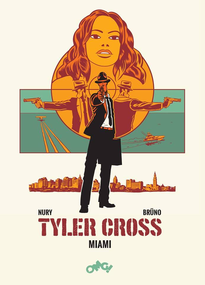 Tyler Cross - Miami - rys. Brüno