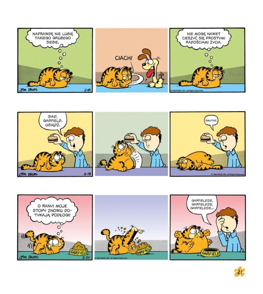 Garfield. Tłusty koci trójpak, tom 3 - Plansza przykładowa