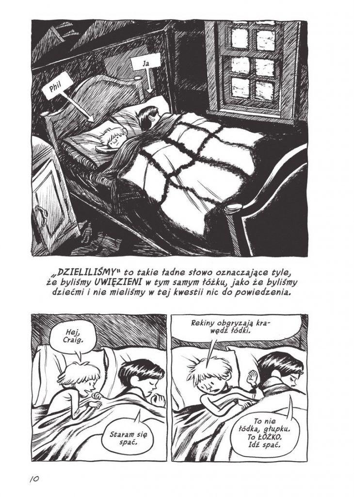 blankets - przykładowa plansza