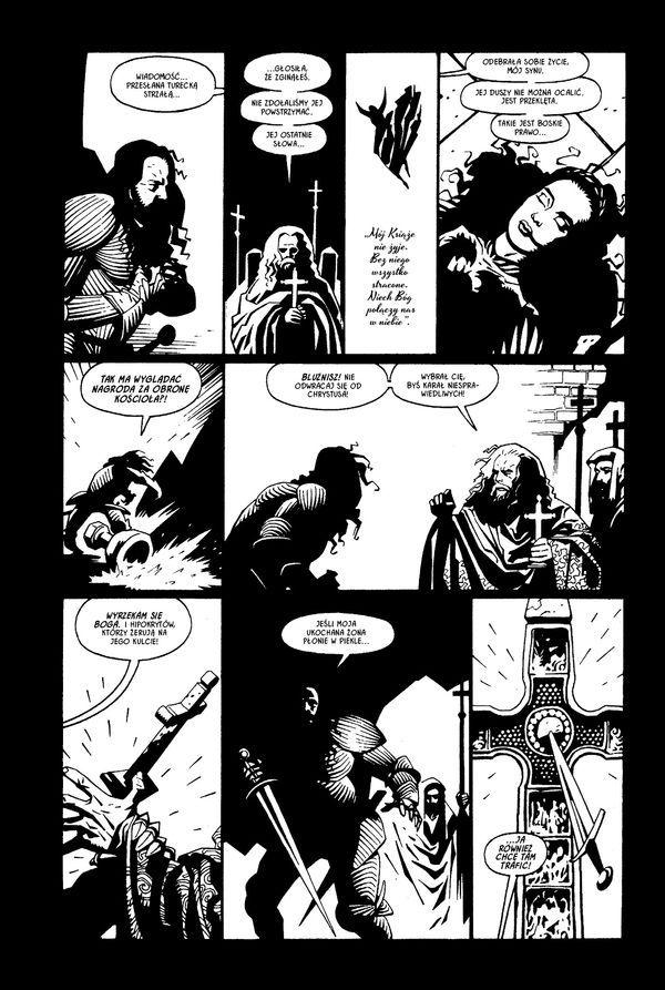 Dracula - plansza przykładowa