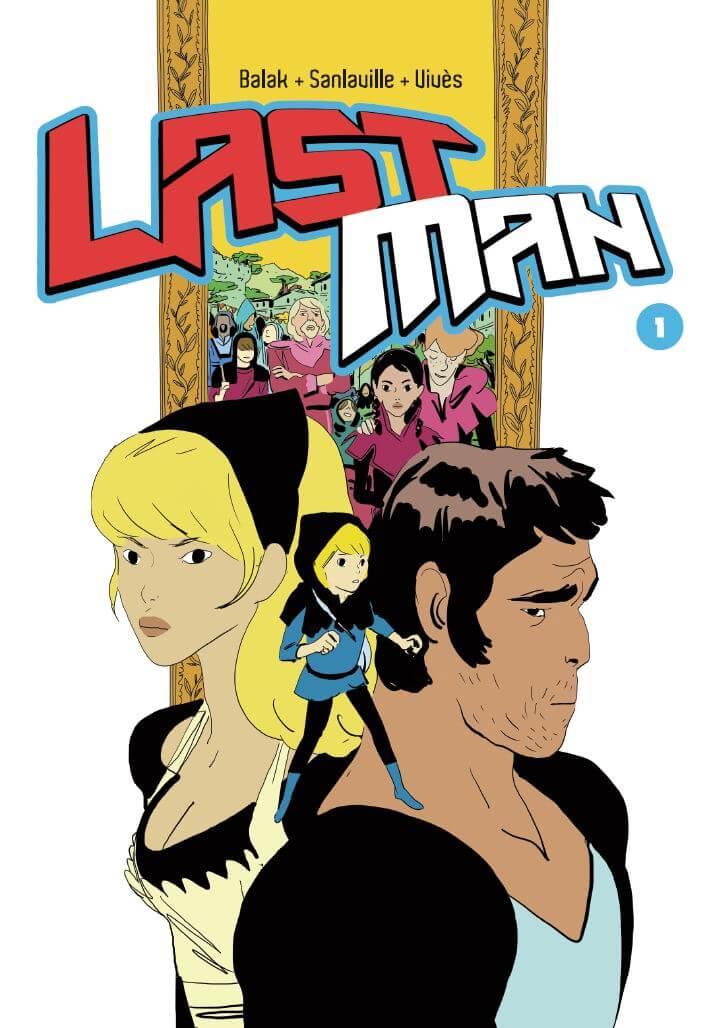 LastMan tom 1 - okładka