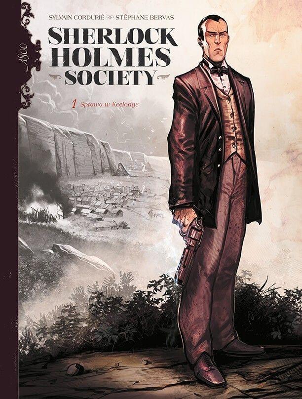 Sherlock Holmes Society – Przygoda w Keelodge, tom 1