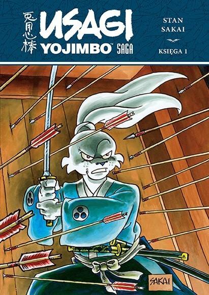 Usagi Yojimbo Saga, księga 1
