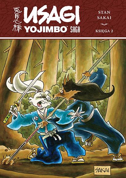Usagi Yojimbo Saga, księga 2