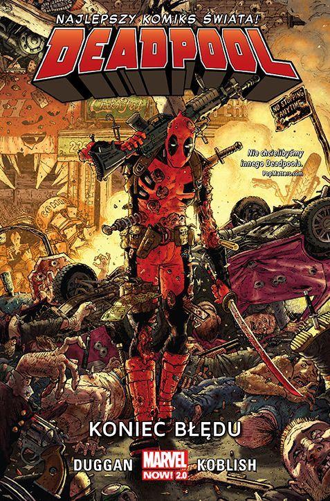 Deadpool 2 - Okładka