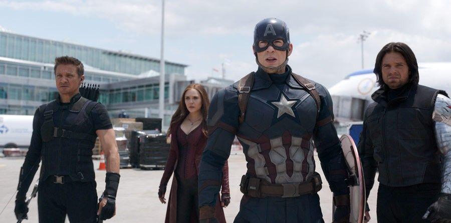 """""""Kapitan Ameryka: Wojna bohaterów"""" - scena z filmu"""
