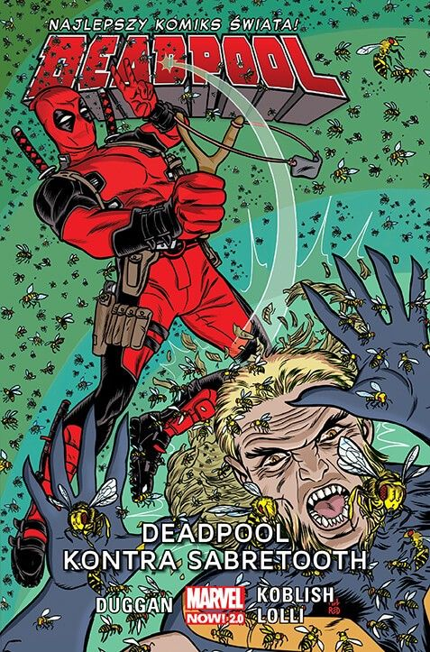Marvel Now 2.0, Deadpool – Deadpool kontra Sabretooth, tom 3