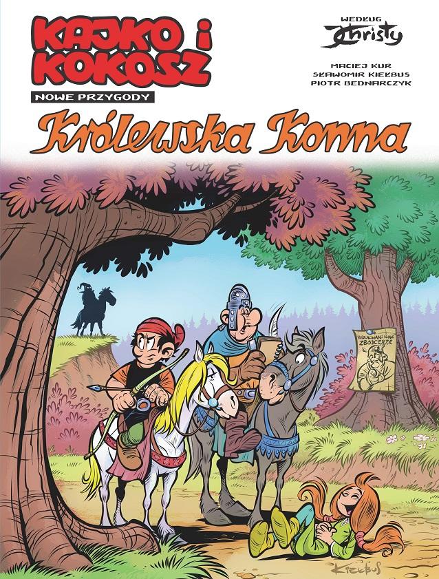 Kajko i Kokosz Nowe Przygody: Królewska Konna - okładka