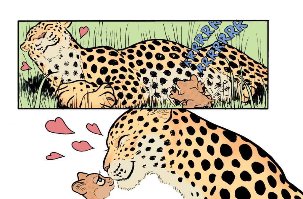 Baboon - przykładowa plansza