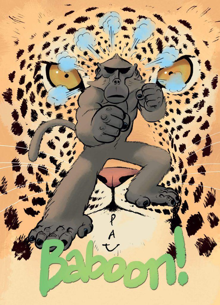 Baboon - okładka