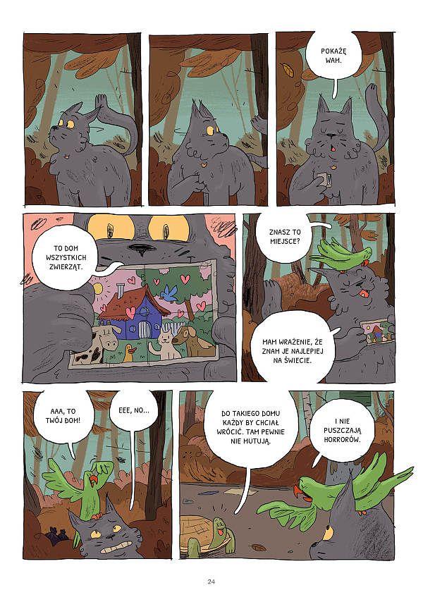 Bardzo Dzika Opowieść - Plansza Przykładowa