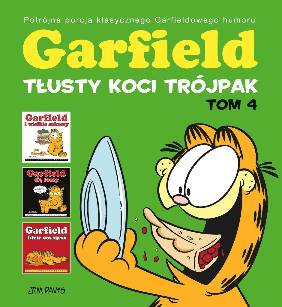 Garfield. Tłusty koci trójpak, tom 4