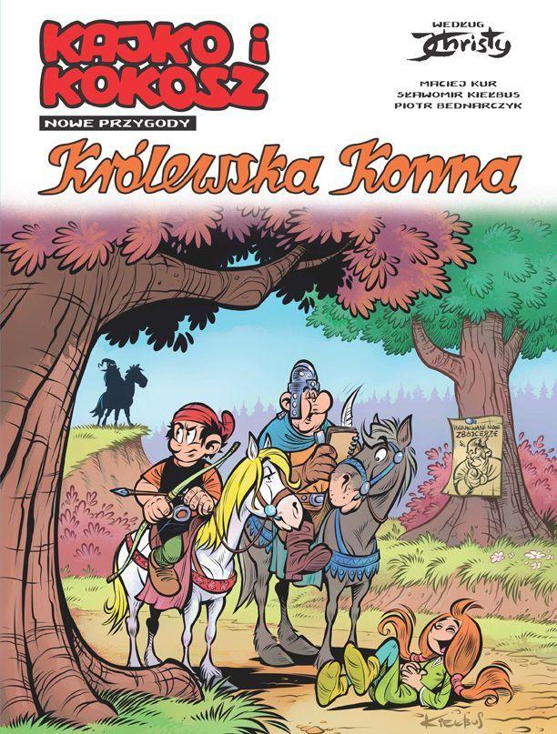 Królewska Konna - Kajko i Kokosz. Nowe Przygody - Okładka