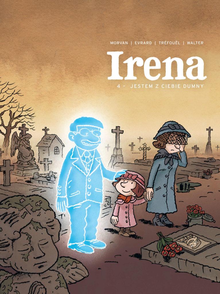 Irena 4: Jestem z ciebie dumny - okładka