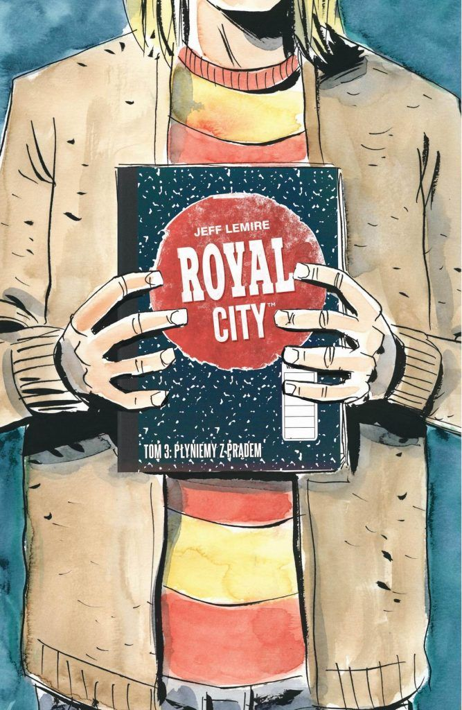 Royal City - rys. Jeff Lemire