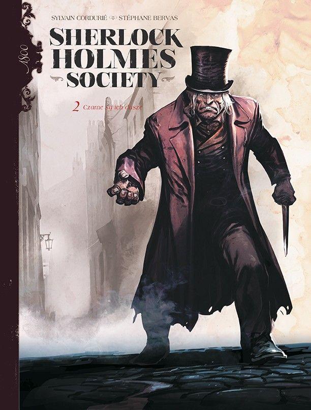 Sherlock Holmes Society - rys. Stéphane Bervas
