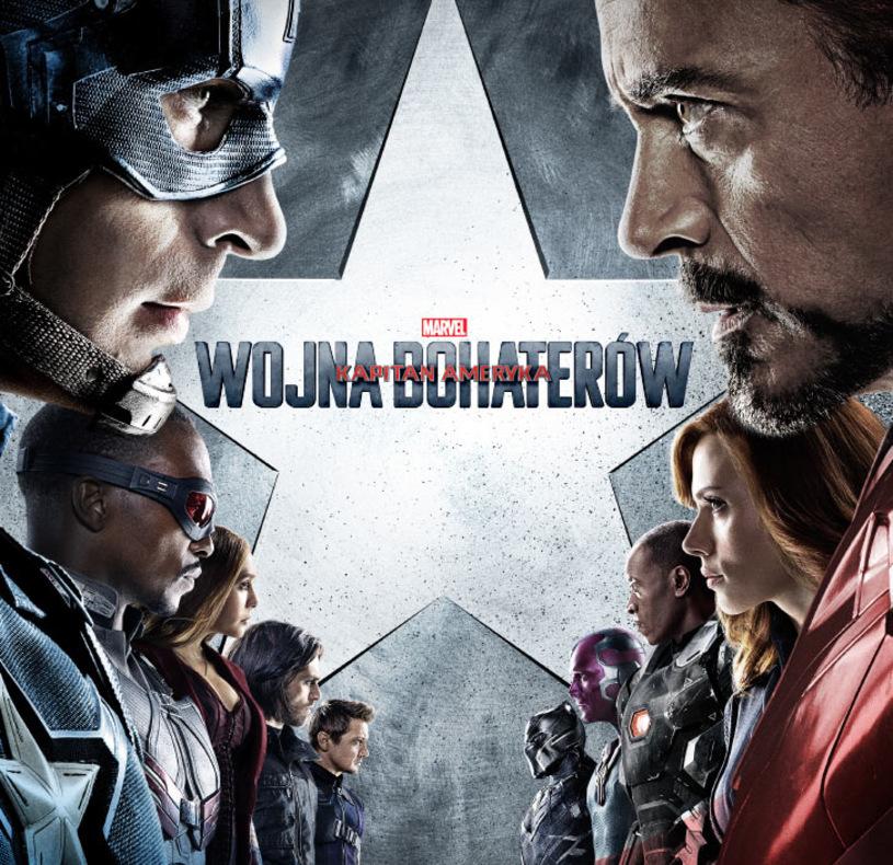 """""""Kapitan Ameryka: Wojna bohaterów"""" - plakat"""
