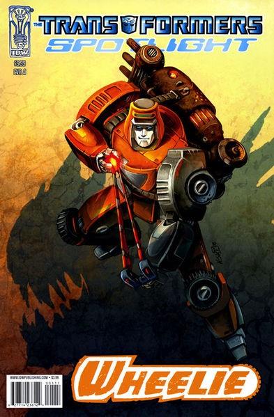 "The Transformers: Spotlight , ""Wheelie"""
