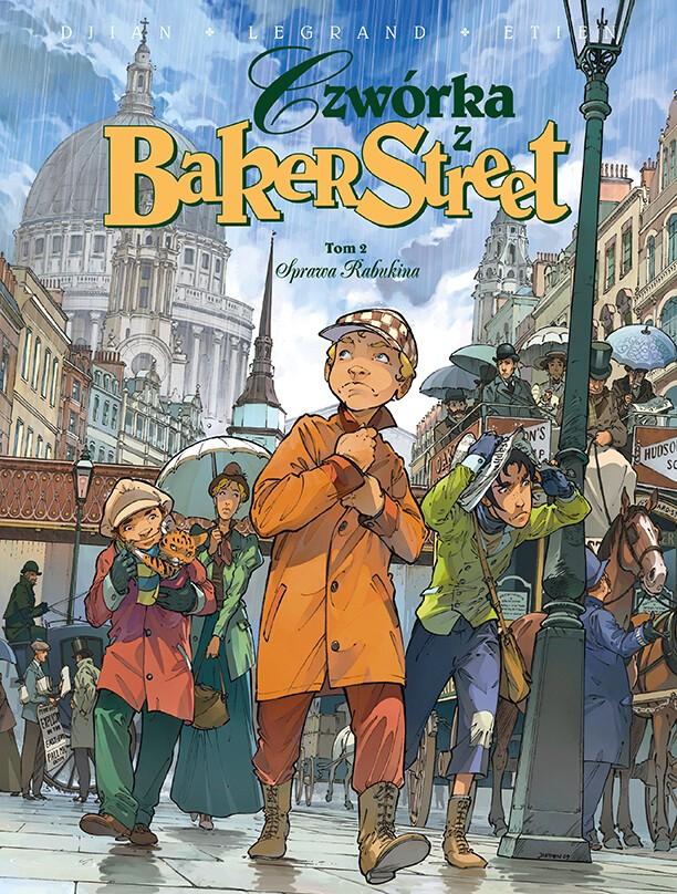 Czwórka z Baker Street. Sprawa Rabukina, tom 2 - okładka