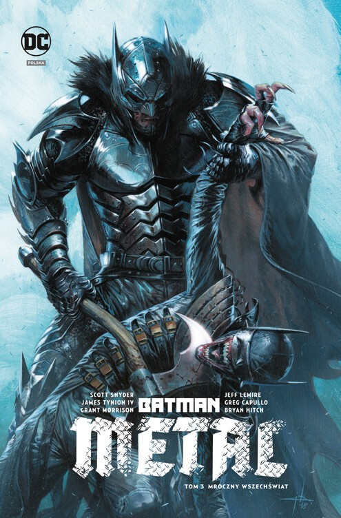 Batman Metal. Metal - Mroczny wszechświat, tom 3 - okładka