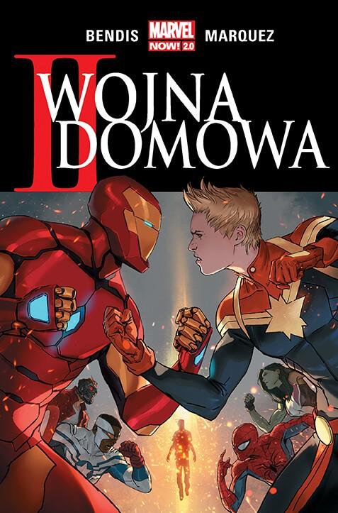 Marvel Now 2.0, II wojna domowa - okładka
