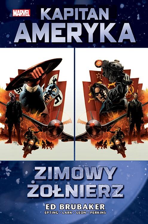 Marvel Classic. Kapitan Ameryka – Zimowy Żołnierz, tom 1 - okładka