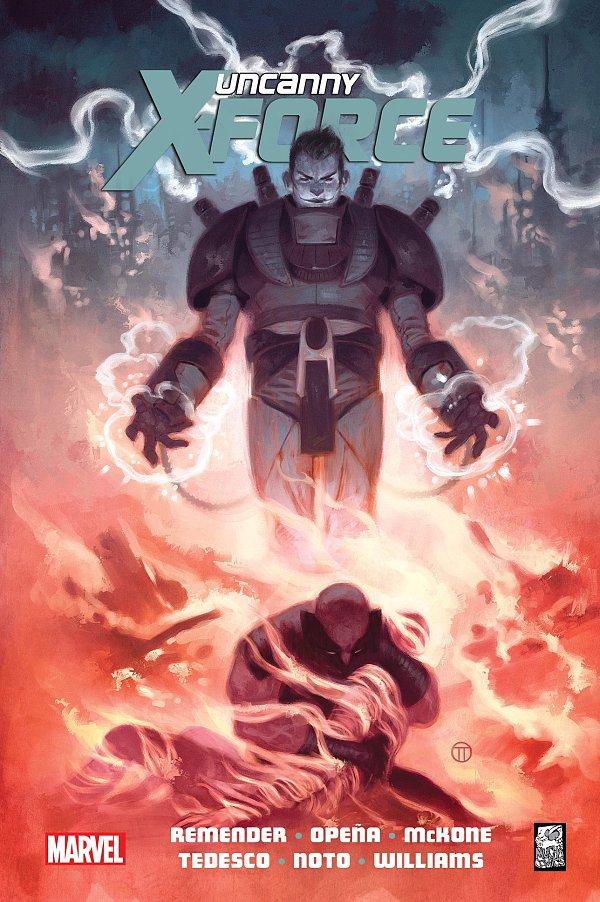 Uncanny X-Force - tom 4 - okładka