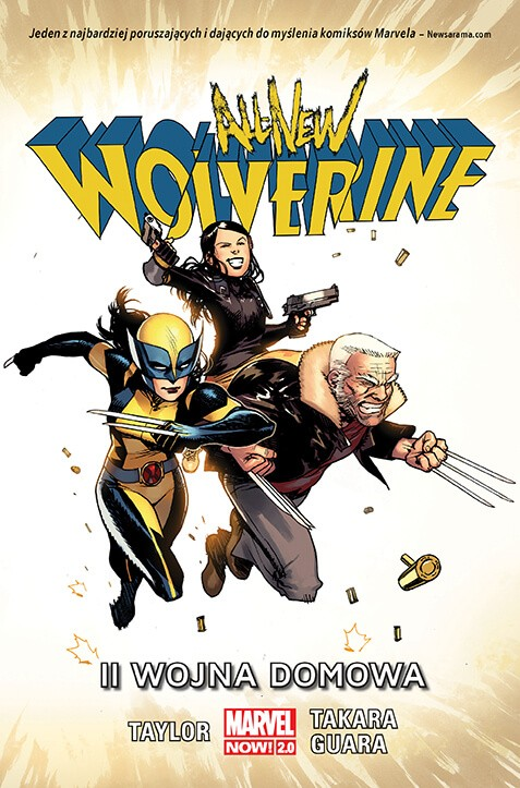 Marvel Now 2.0  All-New Wolverine – II wojna domowa, tom 2 - okładka