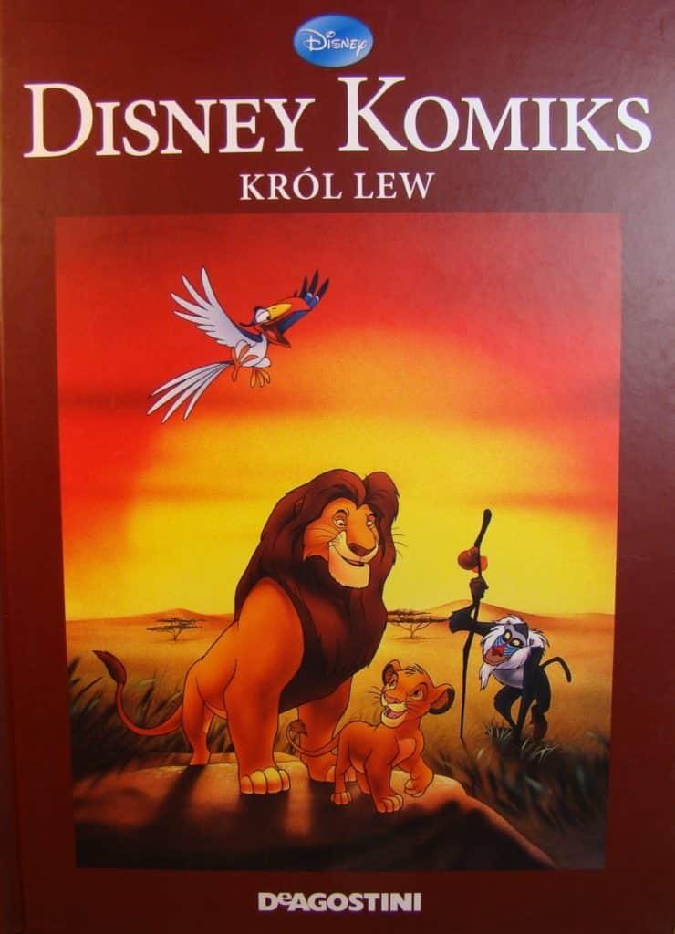 """""""Król Lew"""" - wydanie DeAgostini"""