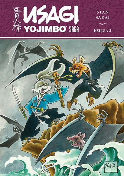 Usagi Yojimbo Saga. Księga 3 - okładka