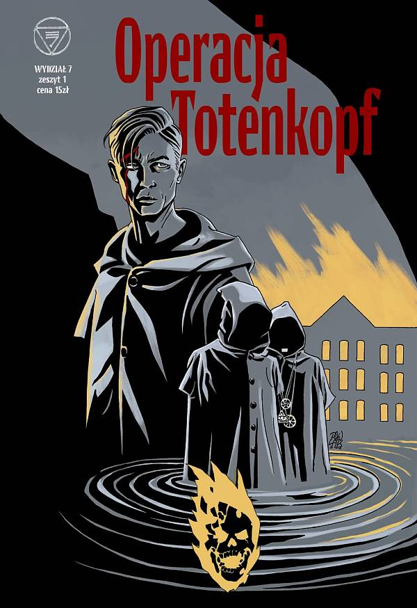 Wydział 7 - Operacja Totenkopf - okładka