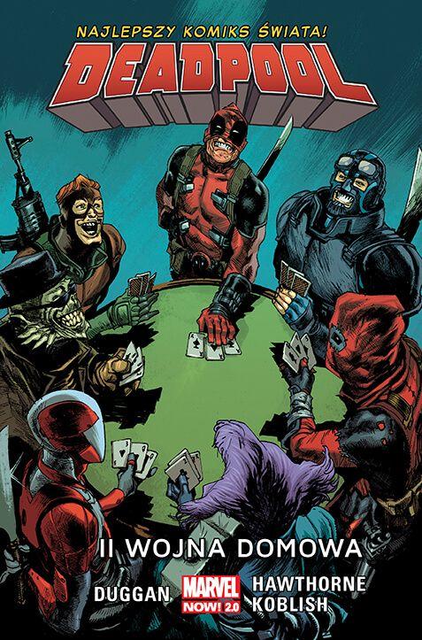 Marvel Now 2.0, Deadpool – II wojna domowa, tom 5 - okładka