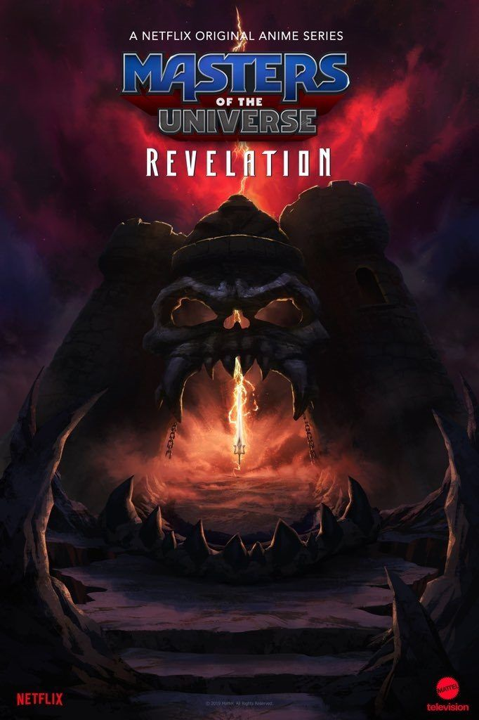 """Masters of the Universe: Revelation"" - plakat serialu"
