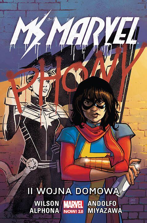 Marvel Now 2.0, Ms Marvel – II wojna domowa, tom 6 - okładka