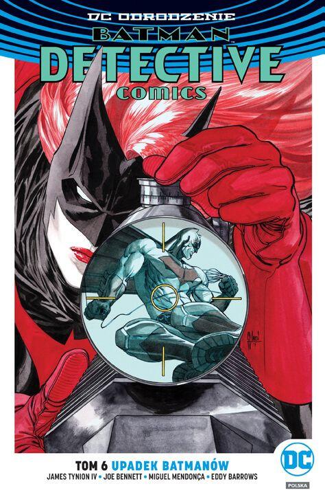 DC Odrodzenie. Batman – Detective Comics – Upadek Batmanów, tom 6 - okładka