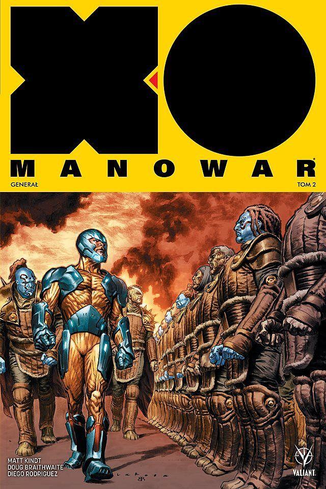 X-O Manowar Generał - okładka