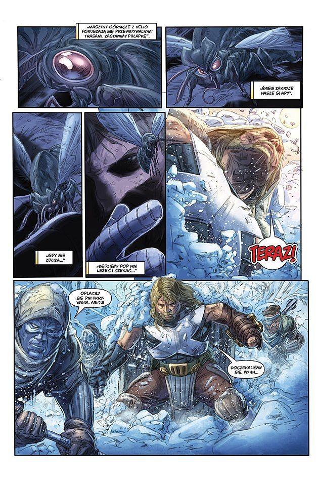 X-O Manowar Generał - przykładowa plansza
