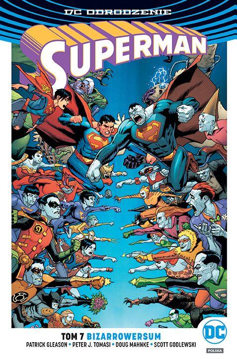 DC Odrodzenie. Superman – Bizarrowersum, tom 7 - okładka