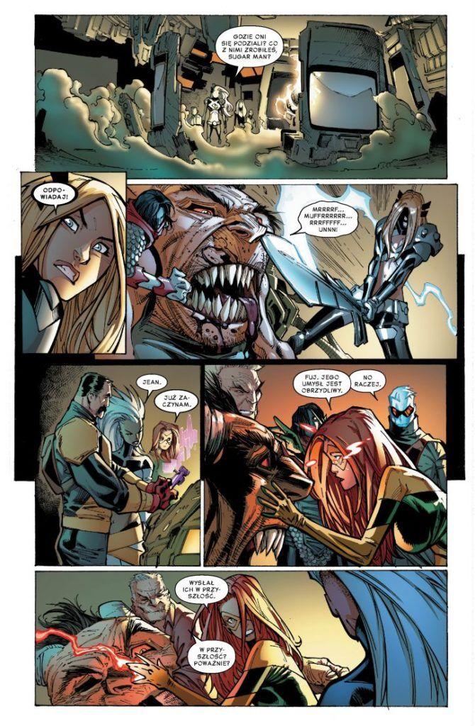 Extraordinary X-Men tom 2 - przykładowa plansza