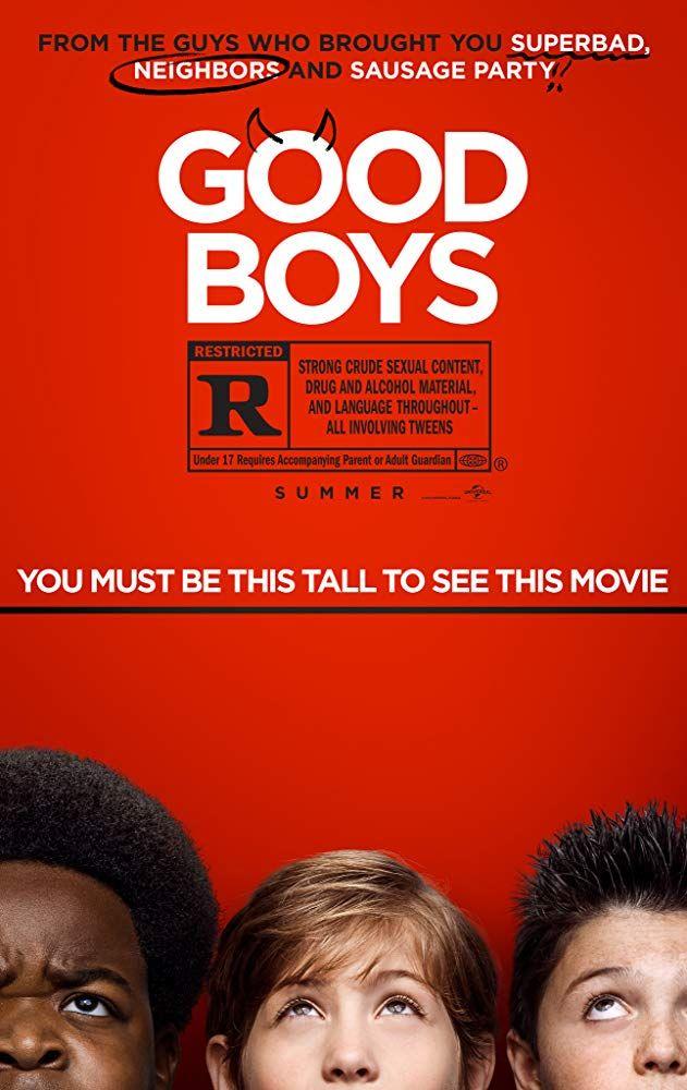 grzeczni chłopcy - plakat