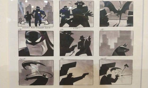 Fotorelacja z wystawy DC. Świt superbohaterów na 30. MFKiG 2019