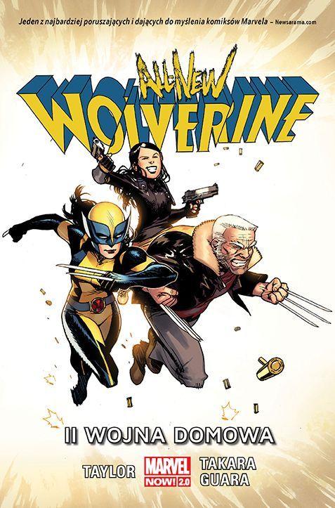 All New Wolverine II wojna domowa - przykładowa plansza