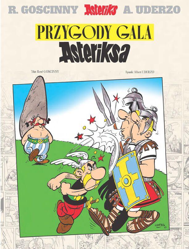 Asteriks. Przygody Gala Asteriksa - okładka