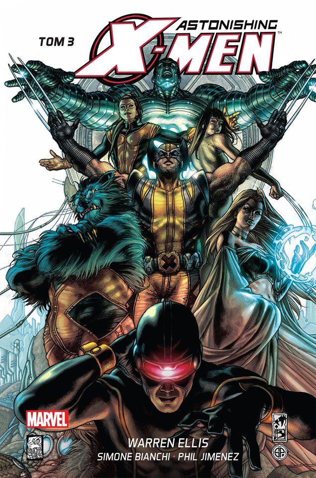"""""""Astonishing X-Men 3"""" - okładka"""