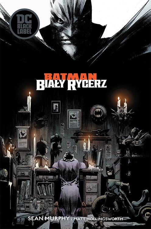DC Black Label. Batman – Biały Rycerz - okładka