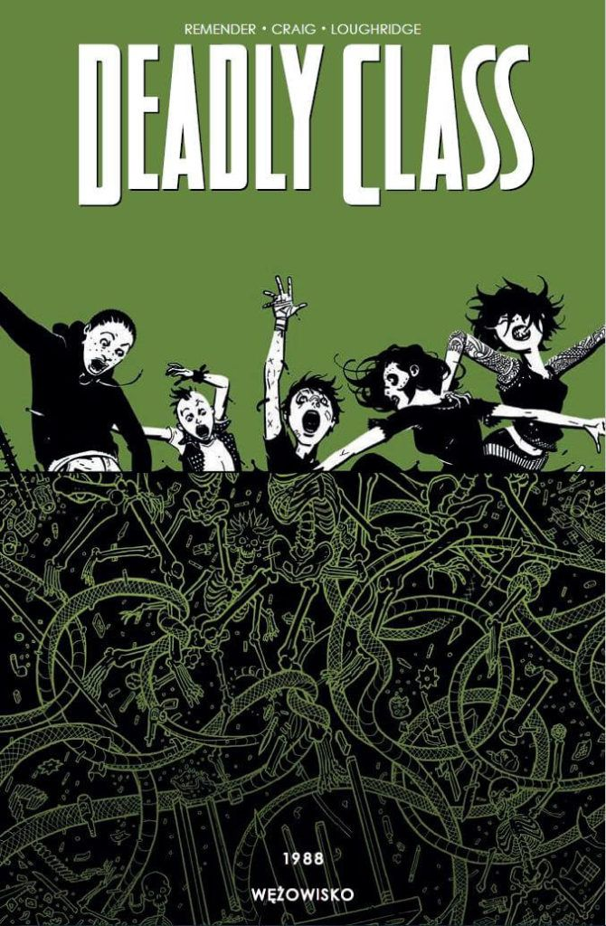Deadly Class tom 3 - okładka