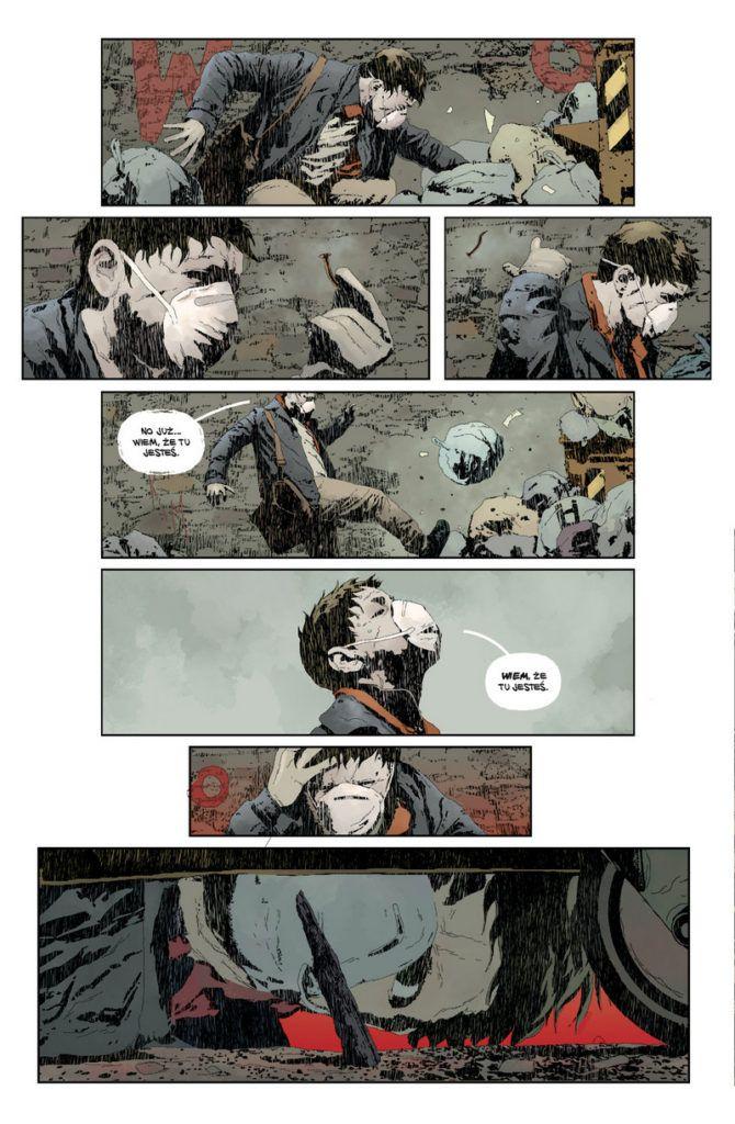 """""""Gideon Falls 1"""" - przykładowa strona"""