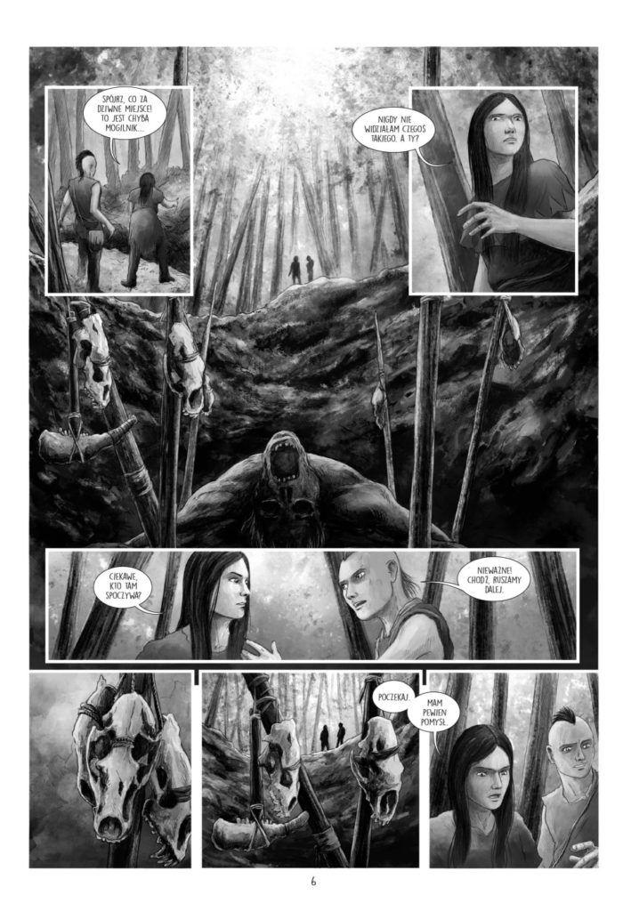 Plemię Sów. Tom 2 - Plansza przykładowa