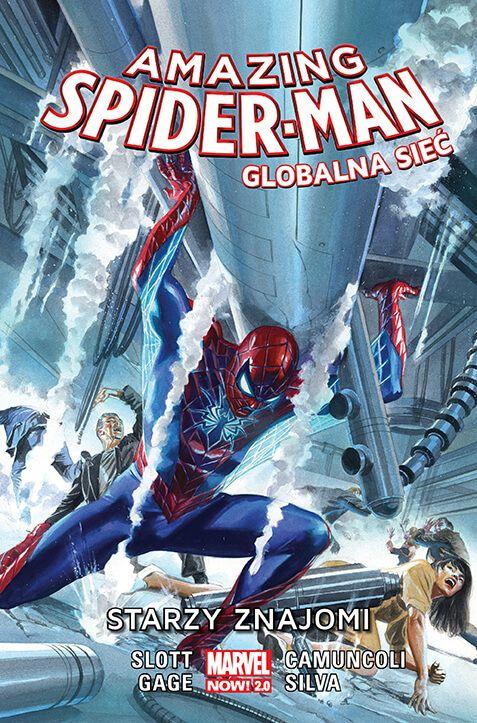 Amazing Spider-Man – Globalna sieć: Starzy znajomi, tom 4 - okładka